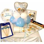 KIT GOLD palloncini battesimo