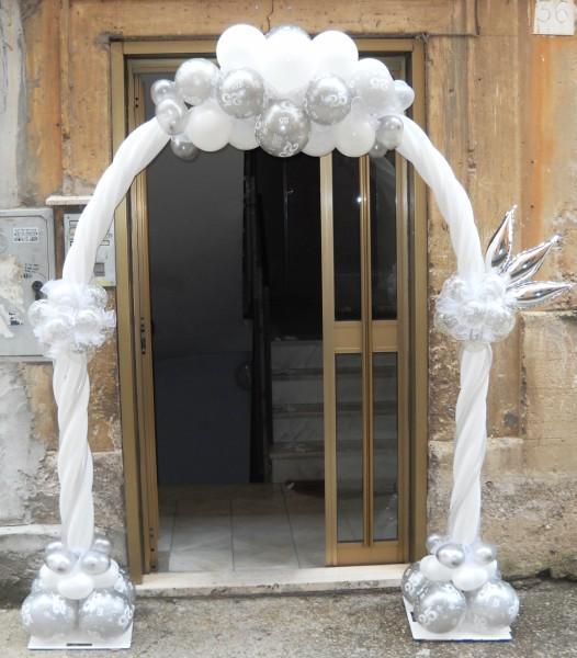 Estremamente Addobbi per Matrimonio (Roma e dintorni) - Archi di palloncini per  EH53